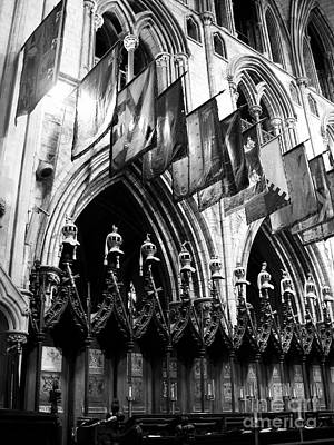 Photograph - Knights Of St Patrick 3 Bw by Mel Steinhauer