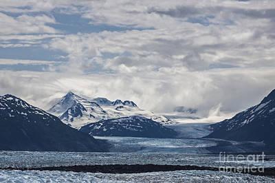 Alaska Photograph - Knik Glacier Alaska by Shishir Sathe