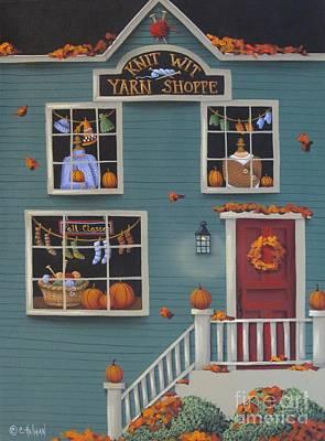 Knit Wit Yarn Shoppe Original by Catherine Holman