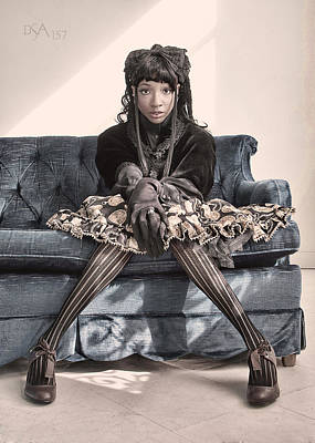 Steampunk Photograph - Knock Kneed by David April