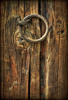Wood Texture Photograph - Knock On Wood by Evelina Kremsdorf