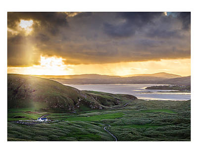 Knockamany Bends Art Print by Kevin Moore