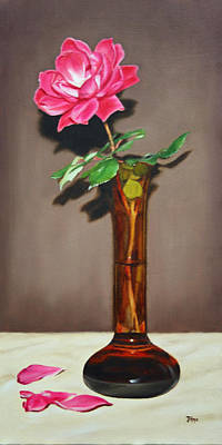 Knockout Painting - Knockout Rose by Jimmie Bartlett