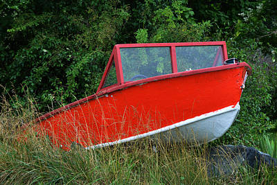 Photograph - Knot My New Boat by Bill Swartwout