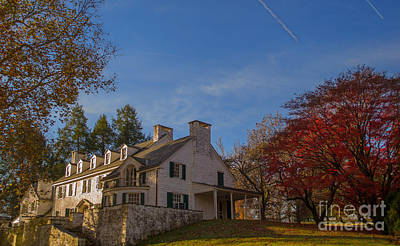 Photograph - Knox Estate Valley Forge by Rima Biswas