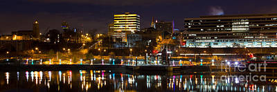 Knoxville Waterfront Art Print by Douglas Stucky