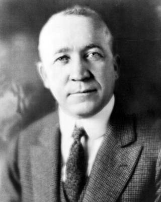 Knute Rockne Head Shot Art Print by Retro Images Archive