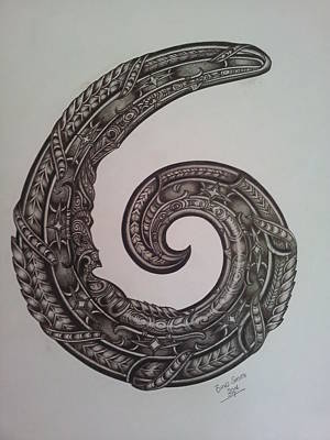 Ko Te Koru...the Koru. Original by Bino Smith