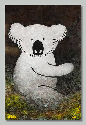 Photograph - Koala Art 01 by Kevin Chippindall