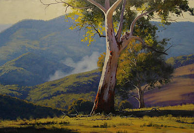 Koala Painting - Koala In The Tree by Graham Gercken