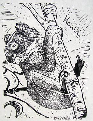 Koala Mixed Media - Koala by Linda Williams