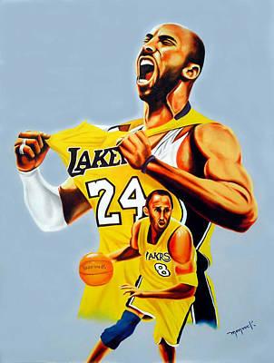 Kobe Bryant By Hector Monroy Original by Hector Monroy