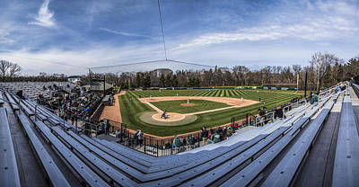 Photograph - Kobs Field At Michigan State University by John McGraw