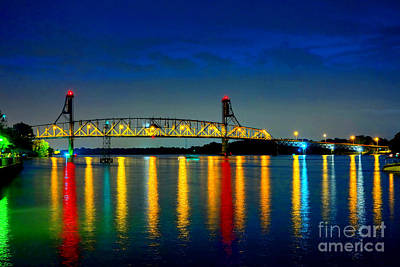 Kodachrome Bridge Art Print by Olivier Le Queinec