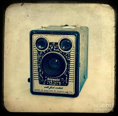Kodak Brownie Art Print by Sonja Quintero