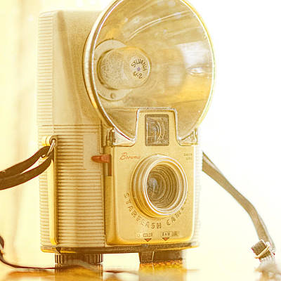 Brownie Photograph - Kodak Brownie Starflash Camera by Jon Woodhams