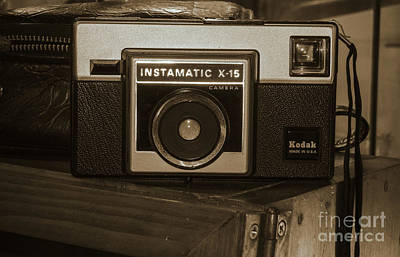 Color Photograph - Kodak Instamatic by David Millenheft
