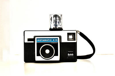 Photograph - Kodak Instamatic X 15 by Kelly Hazel