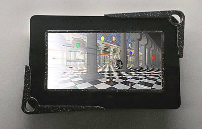 Kodak Product Development Process 3d Lenticular Transparency Original
