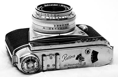 Photograph - Kodak Retina Automatic IIi by John Rizzuto