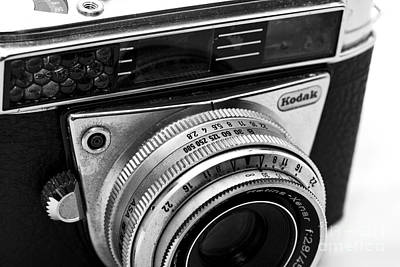 Kodak Retina Camera Art Print by John Rizzuto