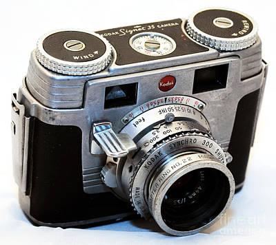 Photograph - Kodak Signet 35 Camera by John Rizzuto