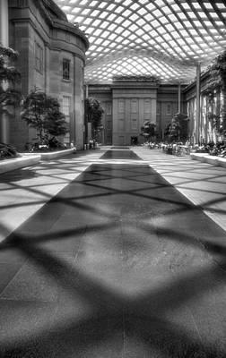 Courtyard Gallery Photograph - Kogod Courtyard IIi by Steven Ainsworth