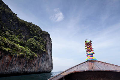 Longtail Wall Art - Photograph - Koh Phi Phi Boat by Marcaux