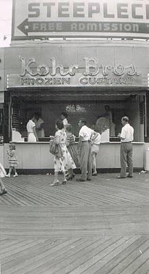 Kohr Photograph - Kohr Bros Frozen Custard Atlantic City Nj by Joann Renner