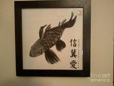 Painting - Koi Fish by Deborah Finley