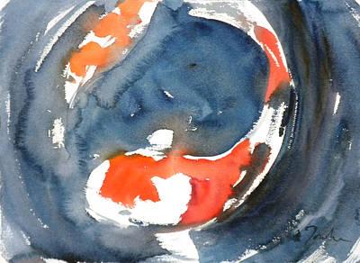 Painting - Koi Fish No.4 by Sumiyo Toribe