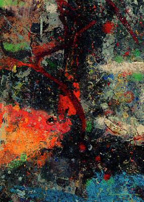 Painting - Koi I by Patrick J Osborne