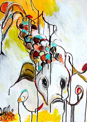 Painting - Koi  by Jon Baldwin  Art