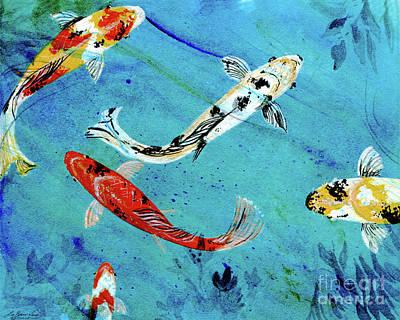 Painting - Koi by Lizi Beard-Ward