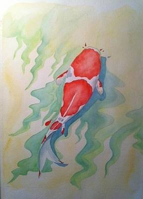 Painting - Koi by Stephanie Reid