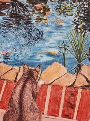 Painting - Koiosity by Brenda Stevens Fanning