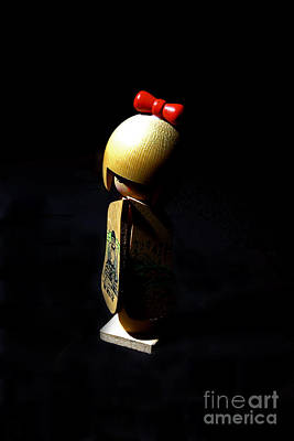 Photograph - Kokeshi by Lawrence Burry