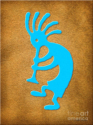 Digital Art - Kokopelli 2 by Cristophers Dream Artistry