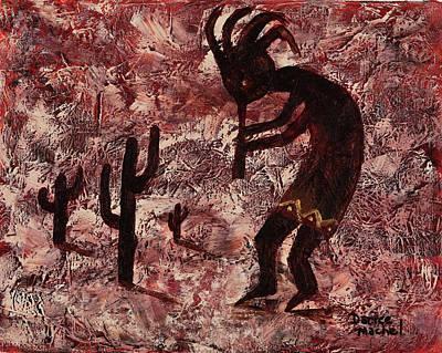 Painting - Kokopelli by Darice Machel McGuire
