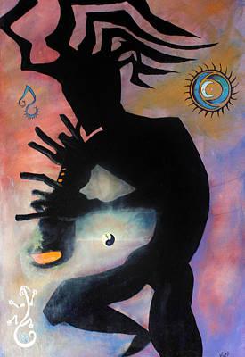 Kokopelli Art Print by James Kruse