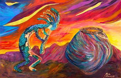 Kokopellie At Sunset Original by Joe Bourne