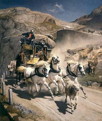 Curvilinear Photograph - Koller, Rudolf 1828-1905 Koller, Rudolf by Everett
