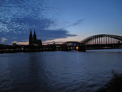Photograph - Koln Rhine by David  Hawkins