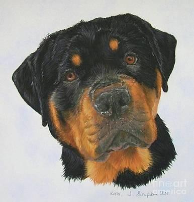 Kolo Art Print by Joanne Simpson