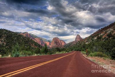 Kolob Photograph - Kolob Canyon by Eddie Yerkish
