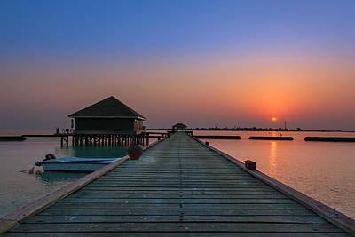 Photograph - Komandoo Sunset by Ian Good