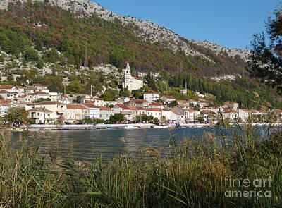 Photograph - Komin And River Neretva - Croatia by Phil Banks
