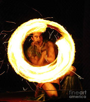 Photograph - Kona Fire Dancer by Theresa Ramos-DuVon