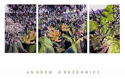 Kona Garden Art Print by Andrew Drozdowicz