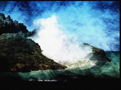 Kona Sea Art Print by Athala Carole Bruckner